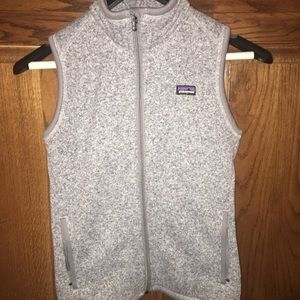 Grey Patagonia vest